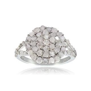 DB Designs Sterling Silver 1ct TDW Diamond Ring
