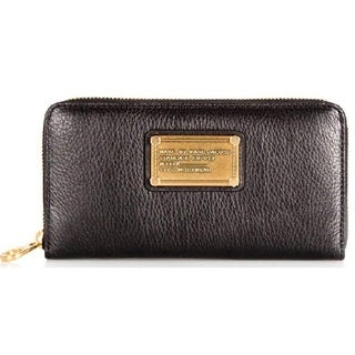 Marc Jacobs Classic Q Large Zip Around Wallet