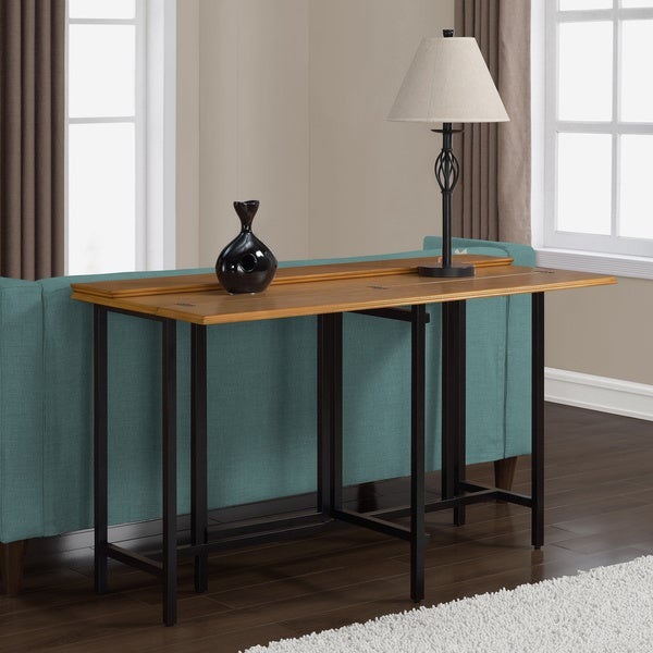 expandable sofa table furniture of america naleigh Archer Espresso Sofa Table overstock sofa side table