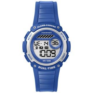 Timex TW5K85000M6 Marathon Digital Mid-size Blue Resin Watch