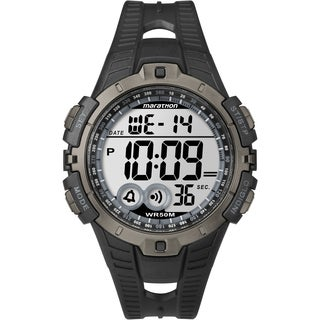 Marathon by Timex Men's Digital Full-size Black/ Gray Watch