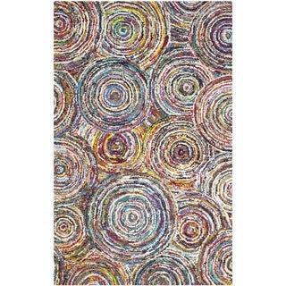 Safavieh Hand-Tufted Nantucket Multi Cotton Rug (9' x 12')