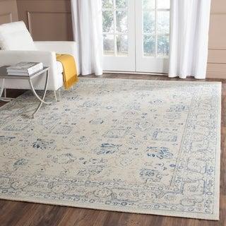 Safavieh Patina Taupe/ Taupe Cotton Rug (9' x 12')