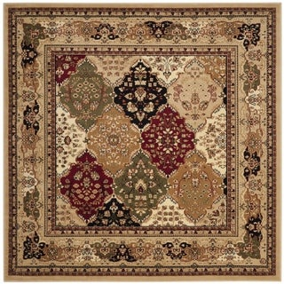 Safavieh Lyndhurst Multi/ Black Rug (10' Square)