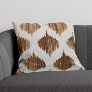 Decorative Edwards 18-inch Poly or Down Filled Throw Pillow