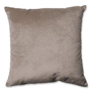 Pillow Perfect Belvedere Driftwood Knit Velvet Throw Pillow