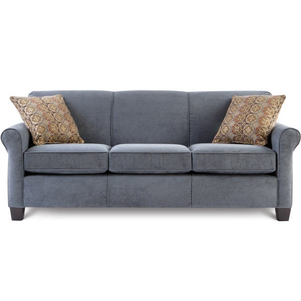 Art Van Spectrum Bluestone Sofa