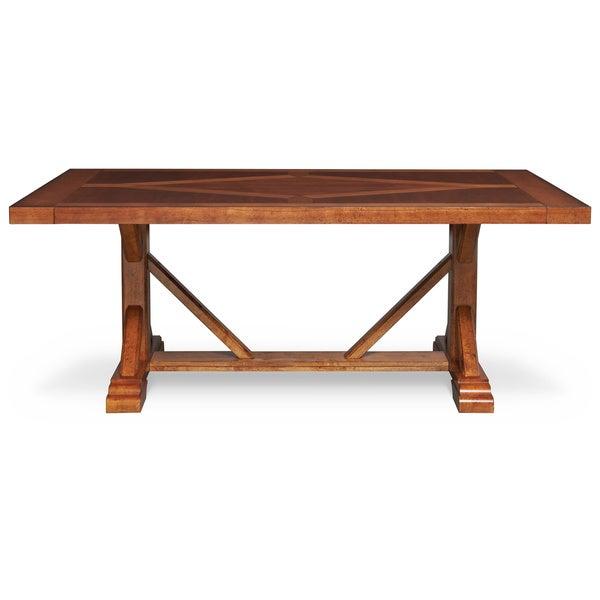art van dakota ridge trestle table overstock shopping