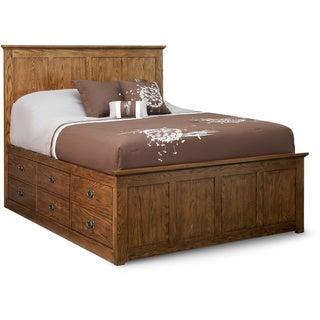Art Van Oak Park Queen Storage Bed