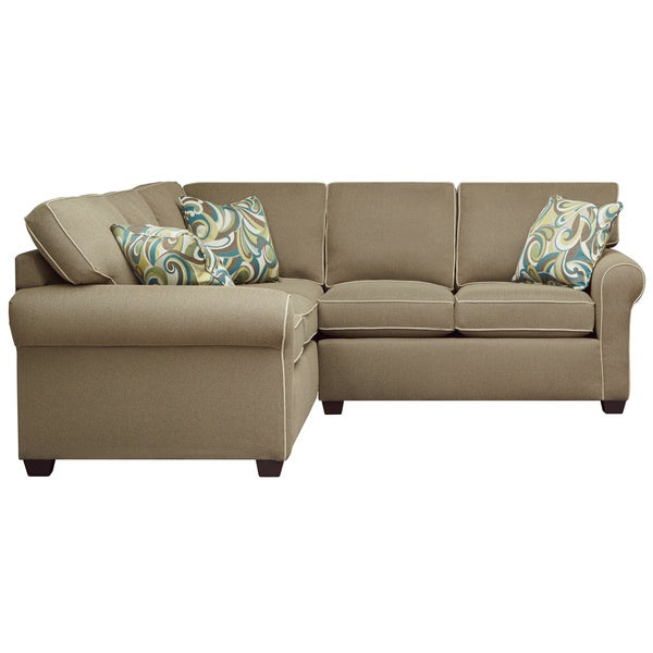 Art van serena ii 2 piece sectional overstock shopping for Sectional sofa art van