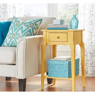 Daniella 1-drawer Wood Storage Accent End Table