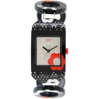 Swatch Women's Originals SUBB126B Black Plastic Swiss Quartz Watch