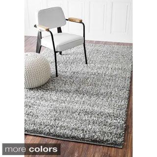 nuLOOM Cozy Modern Soft and Plush Solid Shag Rug (8' x 10')