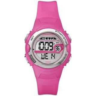 Marathon by Timex Women's Digital Mid-size Bright Pink Watch