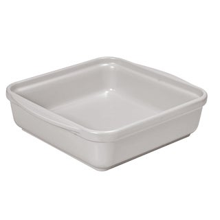 French Home 9.5-inch or 8-inch Oyster Gray Square Baking Dish