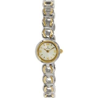 Bulova Women's 98L102 Gold Stainless-Steel Quartz Watch
