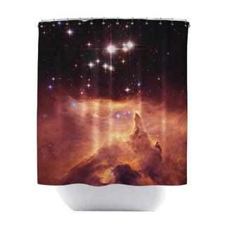 Emission Nebula Shower Curtain