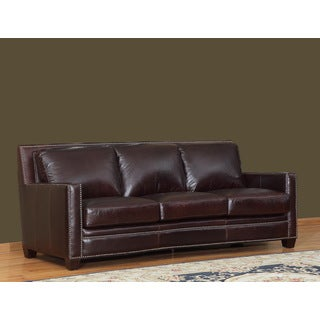 Simplicity Leather Sofa