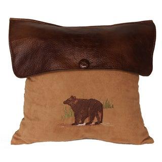 18-inch Lodge Bear Pillow
