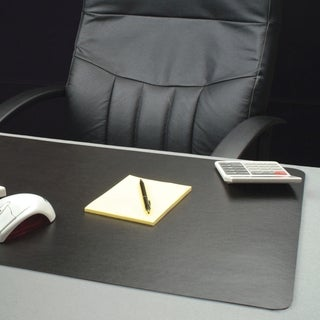 Lorell Bio-based Black Desk Pad