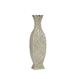 Elements Ivory Fleur De Lis 17-inch Vase