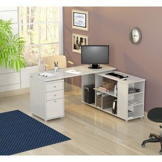 Inval L-shaped Computer Work Station