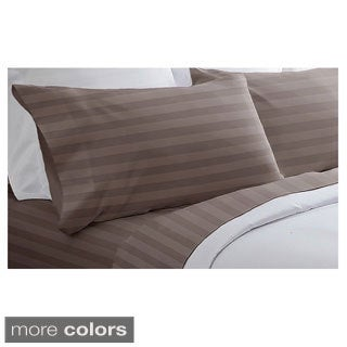 400 Thread Count Cotton Dobby Stripe Sheet Set