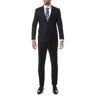 Zonettie-Ferrecci Mens Slim Fit Solid Suit