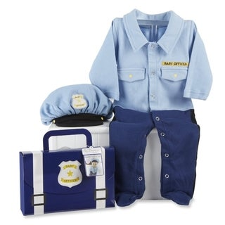 Baby Aspen Big Dreamzzz Baby Officer 2-piece Layette Set