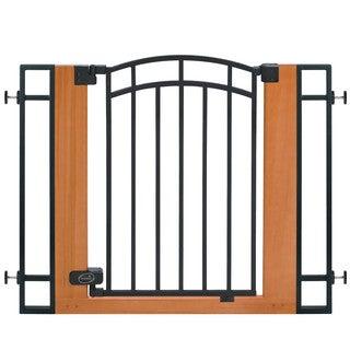 Summer Infant Wooden Metal Walk-thru Gate