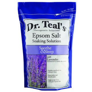 Dr. Teal's Soothe and Sleep with Lavender Pure Epsom Salt Soaking Solution