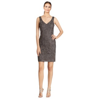 Fall Sheath Dresses With Jackets In Gray Sue Wong Women s Grey Beaded