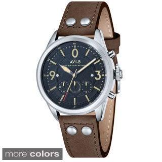 AVI-8 Lancaster Bomber Men's Round Dial Watch
