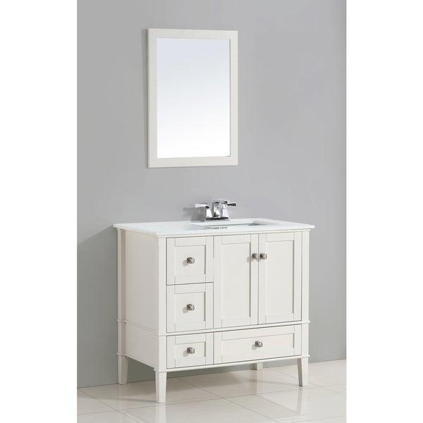 wyndenhall windham white 37 inch right offset bath vanity