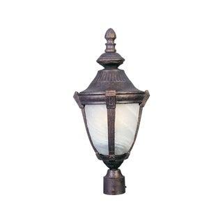 Bronze Aluminium Shade Wakefield 1-light Outdoor Pole/ Post Mount Light