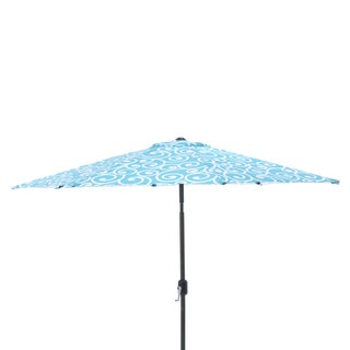 Pillow Perfect Best Turquoise 9-foot Patio Market Umbrella