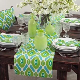Ikat Design Printed Table Linens