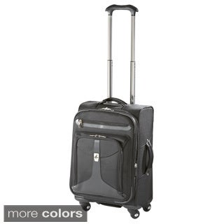Atlantic by Travelpro Odyssey Lite 21-inch Carry On Expandable Spinner Upright Suitcase
