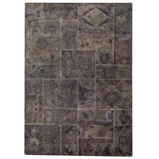 Hand-tufted Sara Grey New Zealand Wool Rug (7'10 x 9'10)