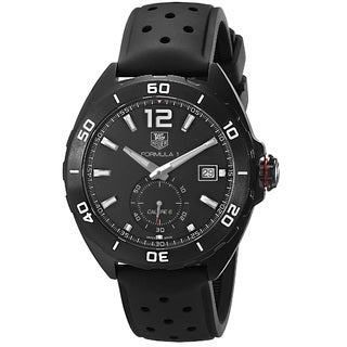 Tag Heuer Men's 'Formula 1 Calibre 6' Titanium Carbide Coated Stainless Steel Watch