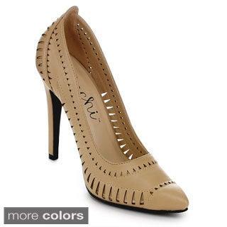MACHI JL-JULIA-5 Women's Classic High Heel Dress Pump