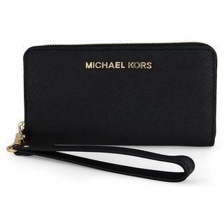 MICHAEL Michael Kors Jet Set Leather Multi Function Phone Case