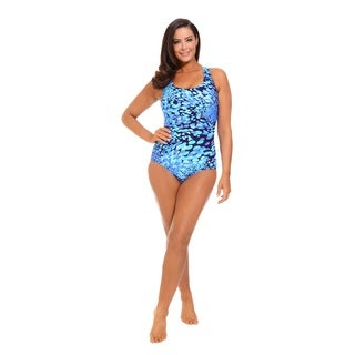 Dew Drops Side Shirred Swimsuit