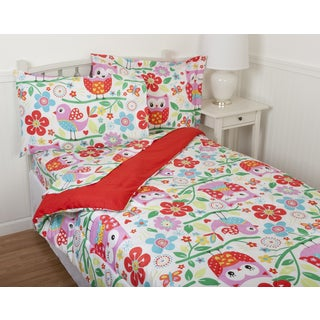 Kids' Winky Owl Comforter Set & Sheet Set Collection