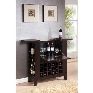 Nelson Wenge Wine Cabinet