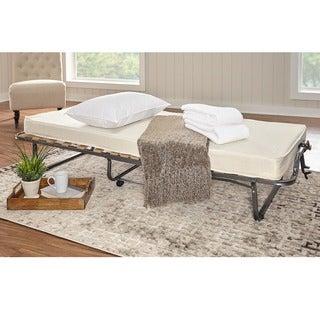 Linon Trento Memory Foam Folding Guest Bed