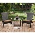 Furniture of America Riley Espresso Wicker Patio Chair (Set of 6)