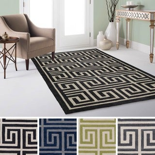 Artistic Weavers Hand-Tufted Essex Crosshatched Rug (7'6 x 9'6)