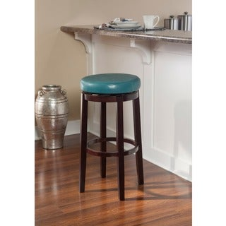 Linon Sloane Teal Counter Stool