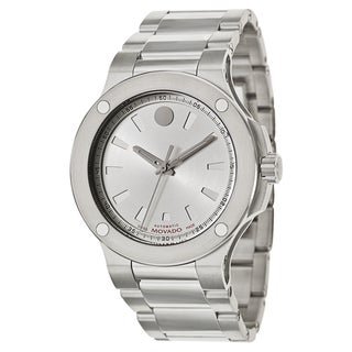 Movado Men's 'SE Extreme' Stainless Steel Swiss Mechanical Automatic Watch